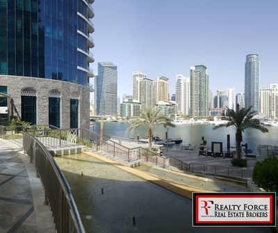 شقة 1 غرفة نوم للايجار في دبي مارينا، دبي - MARINA VIEW  LARGE 1 BEDROOM   HIGH FLOOR