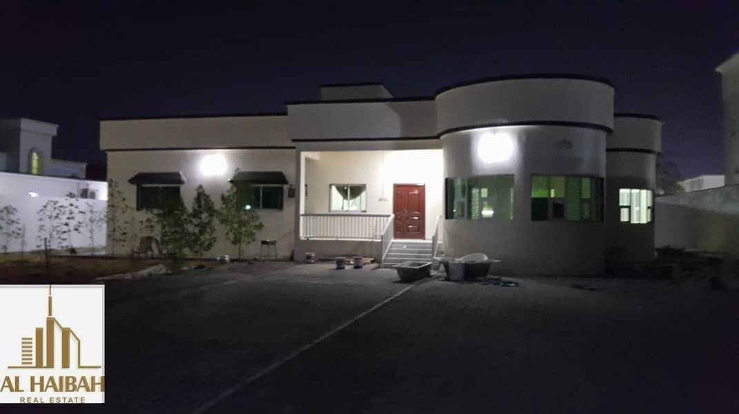 For rent villa ground floor in Ajman area of al jurf