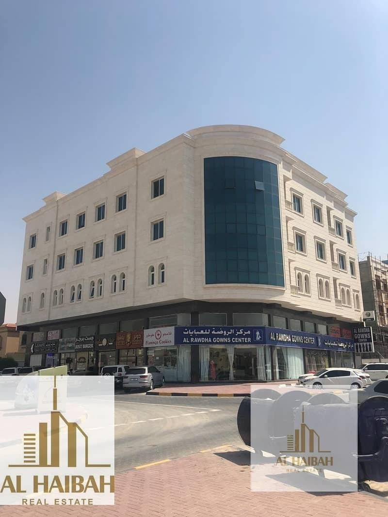 For sale commercial building ground + 3 corner on Sheikh Ammar Street