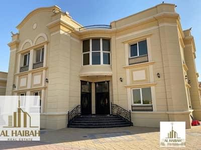 فیلا 6 غرف نوم للبيع في الرحمانية، الشارقة - Charcoal villa for sale in Rahmaniyah very sophisticated finishing