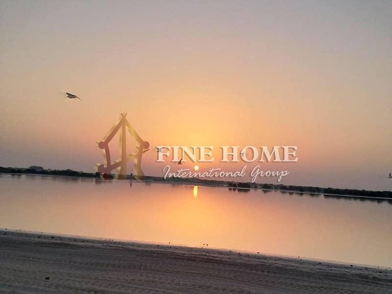42 Amazing  sea view  5 BR. villa in Hidd Al Saadiyat