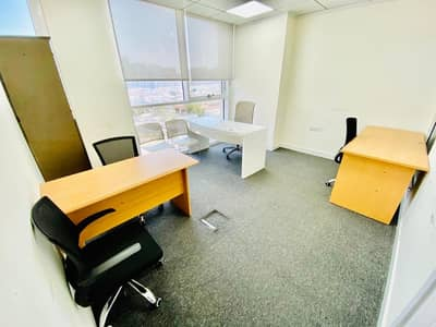 Office for Rent in Al Muroor, Abu Dhabi - Big office in business center for rent at muroor road