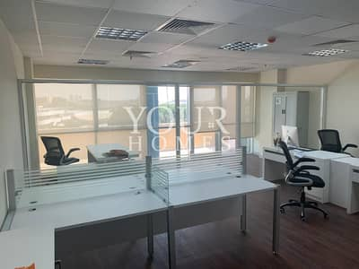 Office for Rent in Arjan, Dubai - SO | Exclusive | Chiller Free & Fitted Office