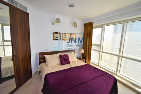 1 Bedroom Flat for Rent in Jumeirah Lake Towers (JLT), Dubai - Fully Furnished 1BR | Vacant | Next to the Metro