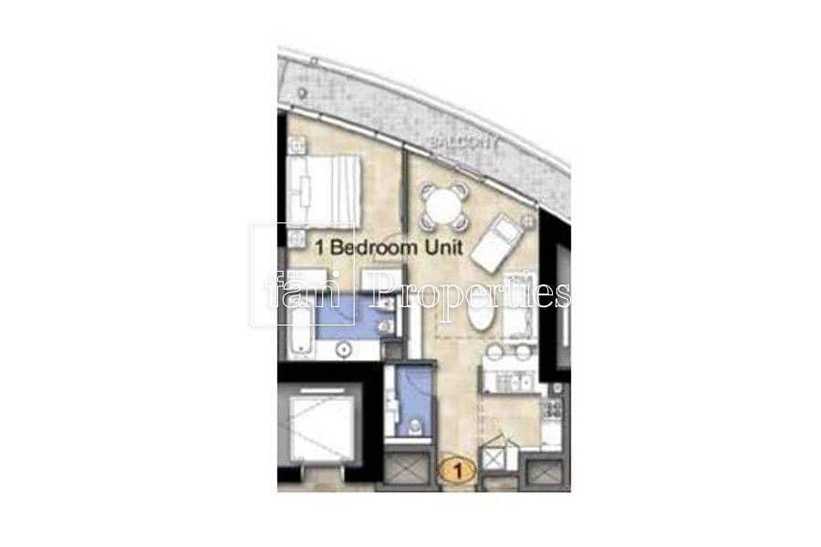 2 Corner Unit on High Floor w/Canal/Skyline View!