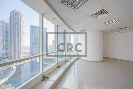 Office for Sale in Jumeirah Lake Towers (JLT), Dubai - Fitted Unit|Open layout|Next to Metro|Natural Lights