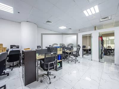 Office for Sale in Business Bay, Dubai - Metro Access|Shoulder partitions|2 Parkings