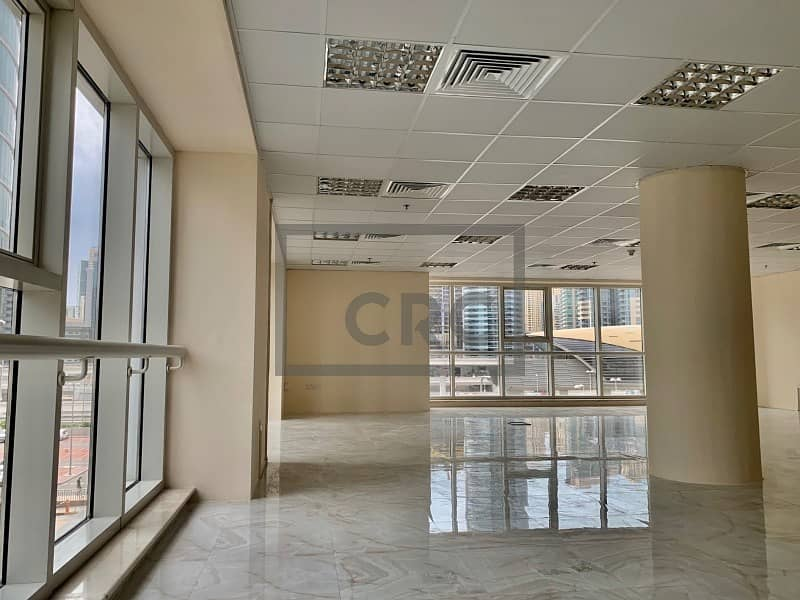 Next to metro | Corner office | Full lake view