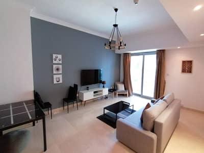 فلیٹ 1 غرفة نوم للايجار في دبي مارينا، دبي - Furnished   Huge balcony   Kitchen appliances