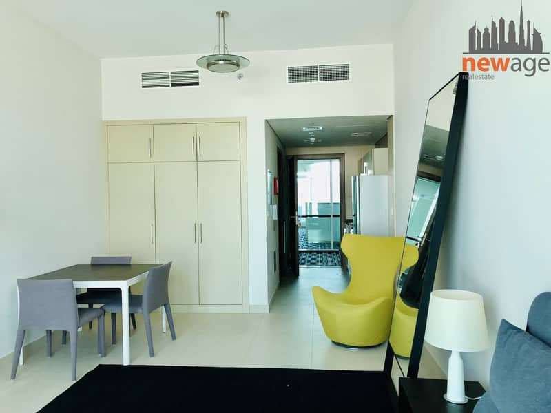 Fully Furnished Studio Apt. For RENT in Hilliana Tower Al Sufouh