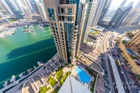 2 Bedroom Flat for Sale in Dubai Marina, Dubai - Upgraded | 2Bed | Furnished  | Marina View