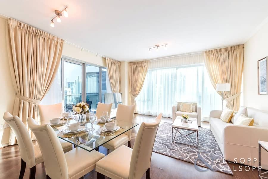 2 Upgraded | 2Bed | Furnished  | Marina View