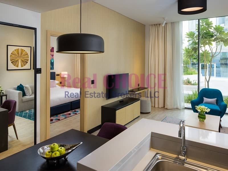 Ready To Move|1BR Fully Furnished Hotel Apartment