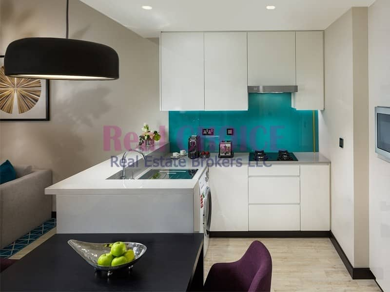2 Ready To Move|1BR Fully Furnished Hotel Apartment