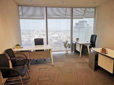 **Deal of the Month** Smart Office fully furnished at Prime Location for AED 38000/-
