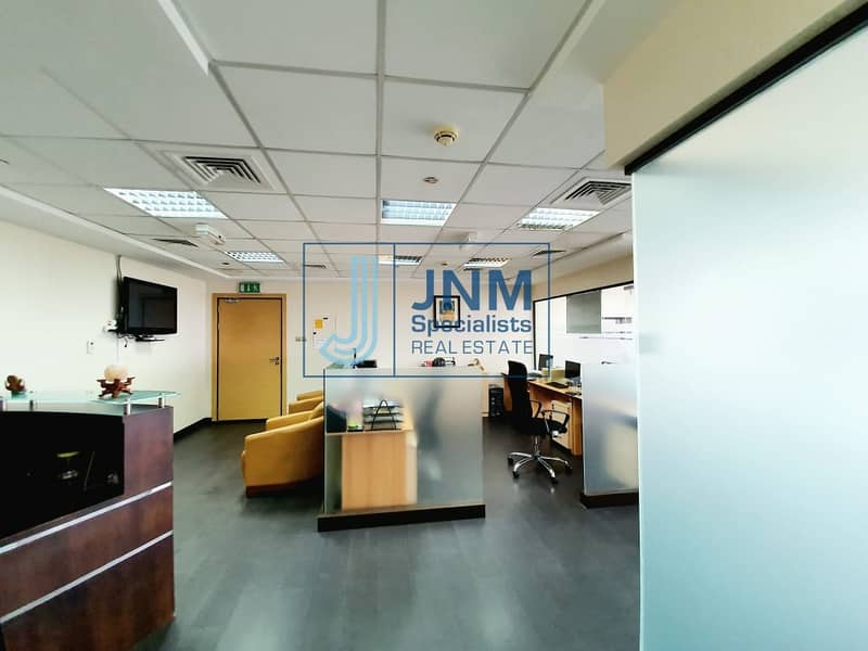 Fitted and Furnished Office Space | Mid Floor