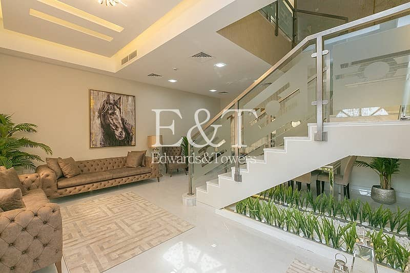 2 Marble Flooring | High Ceiling | 4BR + Maid's
