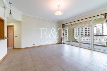 شقة 2 غرفة نوم للايجار في نخلة جميرا، دبي - Mid Floor| Park Views| Pool and Beach access| PJ