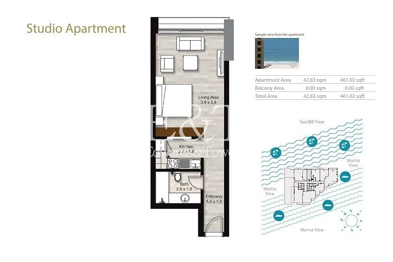 18 Studio | Luxury Development | Multiple Options