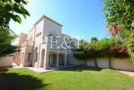3 Bedroom Villa for Rent in The Springs, Dubai - Lake View |1E| Well Maintained | Vacant
