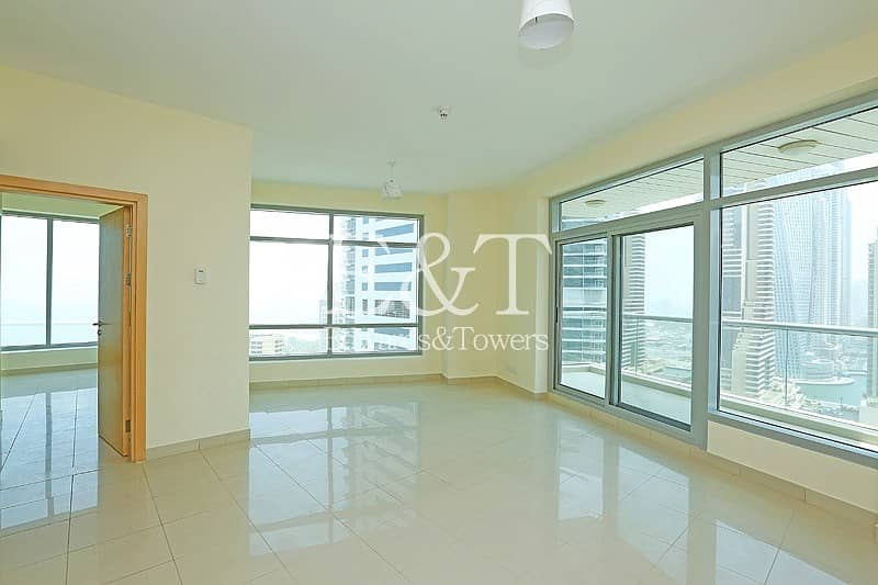 2 Exclusive | High Floor with Marina and Sea View