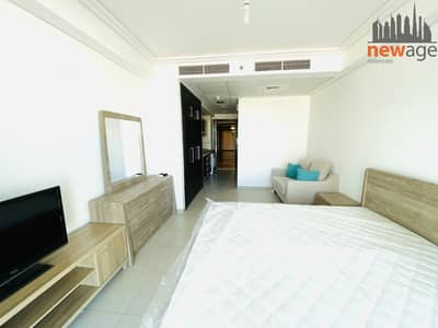 Studio for Rent in Jumeirah Lake Towers (JLT), Dubai - Fully furnished studio apartment for rent in Goldcrest Views 2 JLT