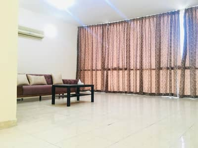 2 Bedroom Flat for Rent in Khalifa City A, Abu Dhabi - LIVING HALL
