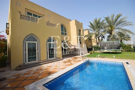 فیلا 4 غرف نوم للبيع في جزر جميرا، دبي - Elevated Cluster|Garden Hall|Amazing Lake View|JI