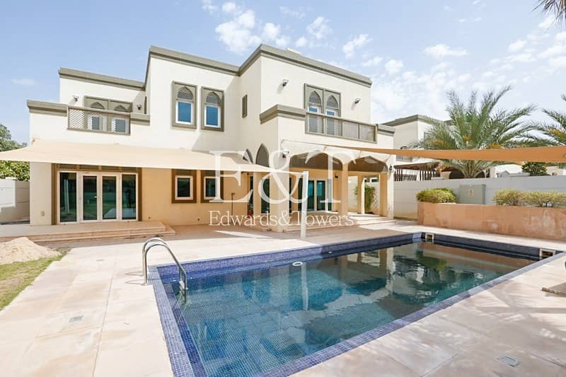 Newly Landscaped Villa With Pool| AMC Included |JP