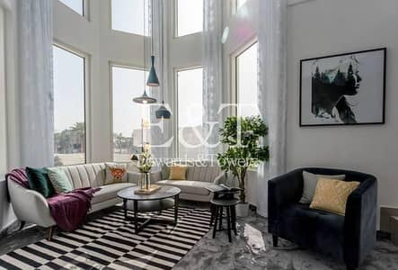 3 Bedroom Apartment for Rent in Jumeirah Heights, Dubai - One of a Kind Duplex | Furnished By Designer