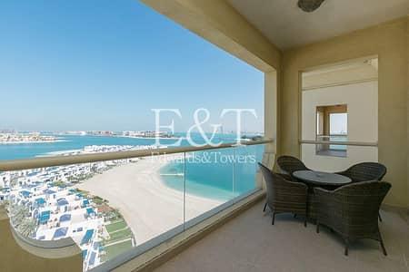 بنتهاوس 4 غرف نوم للبيع في نخلة جميرا، دبي - Upgraded 4 BR Penthouse F/F or Unfurnished | PJ