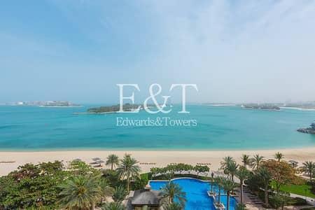 شقة 3 غرف نوم للبيع في نخلة جميرا، دبي - Fully Renovated/Furnished 3 Bed | Sea View | PJ