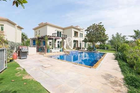فیلا 4 غرف نوم للبيع في جزر جميرا، دبي - Extend Plot| Fully Upgraded|4BR Largest pool|JI