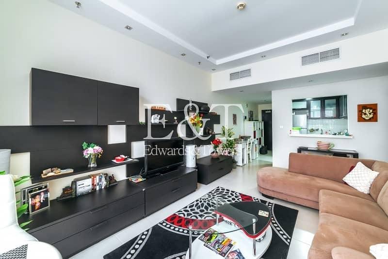 Fully Furnished | Cozy 1 Bedroom | Mid Floor