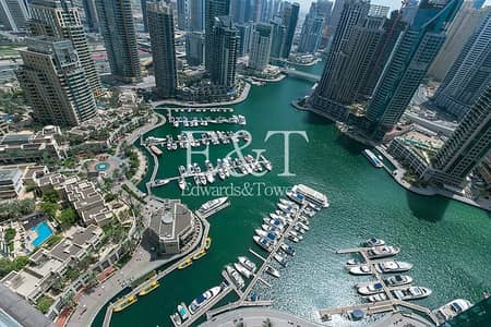 Spacious|Premium Unit|Full Marina View|Unfurnished