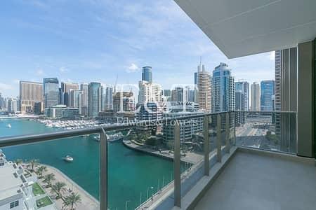 1 Bedroom Apartment for Rent in Dubai Marina, Dubai - Exclusive | Brand New Full Marina View One Bed Apt