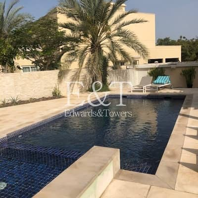 4 Bedroom Villa for Rent in The Meadows, Dubai - Private Pool and Garden | Large Plot | Type 2| EH