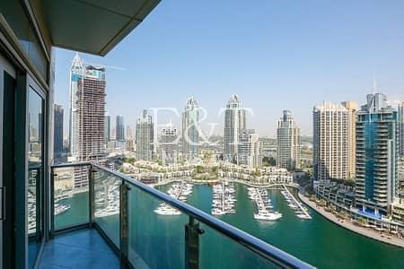 شقة 1 غرفة نوم للايجار في دبي مارينا، دبي - Exclusive: Beautiful Full Marina View | High Floor