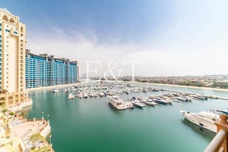 فلیٹ 3 غرف نوم للايجار في نخلة جميرا، دبي - Mid Floor