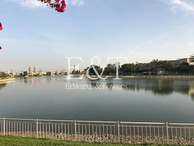 3 Bedroom Villa for Rent in The Springs, Dubai - Full Lake View | 3M | Great Shape|Vacant