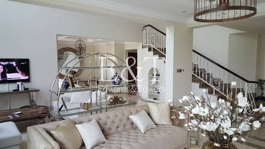 4 Bedroom Villa for Rent in Jumeirah Islands, Dubai - Upgraded Extended Lake and Skyline View |JI