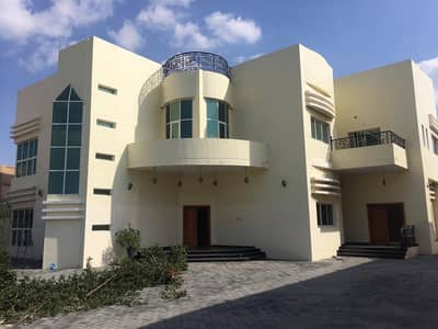 5 Bedroom Villa for Rent in Al Hamidiyah, Ajman - CENTRAL AC - 15000 SQFT - 5 MASTER BEDROOM 2 HALL MAJLIS 2 KITCHEN MAIDRROOM - BIG HOSH WITH GARDEN