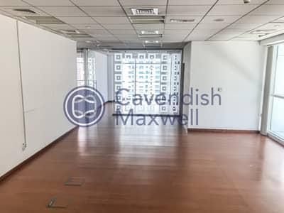 مکتب  للايجار في شارع الشيخ زايد، دبي - Next to Metro | Fitted Office | Grade A Tower