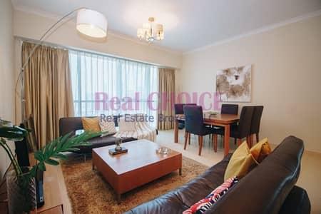 فلیٹ 2 غرفة نوم للايجار في أبراج بحيرات الجميرا، دبي - Payable in 4 Cheques|Fully Furnished 2BR Apartment