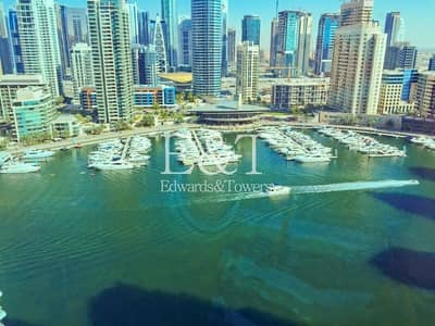 فلیٹ 2 غرفة نوم للبيع في دبي مارينا، دبي - High Floor | Marina View | Vacant Soon