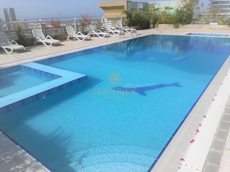 10 All Facilities Free | Lavish 2BHK + Master/R | Gym + Pool