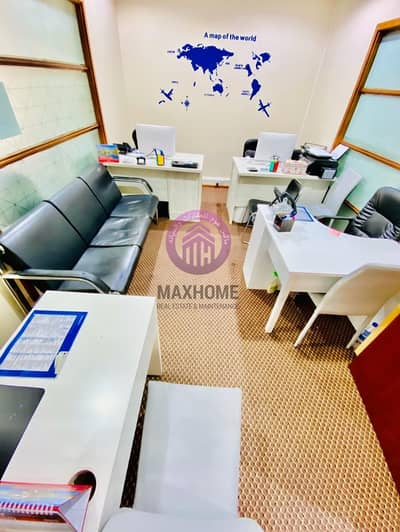 Office for Rent in Al Khalidiyah, Abu Dhabi - Uniquely Designed DED  Approved Offices  With Professional Service