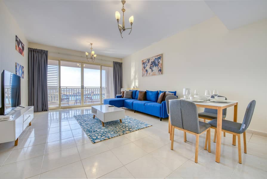2 R&H - Stunning  1BR  with Amazing View - Fully Furnished
