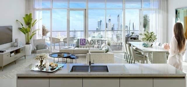 فلیٹ 2 غرفة نوم للبيع في دبي هاربور، دبي - Stunning View w/ Killer Payment Plan|Beach Living