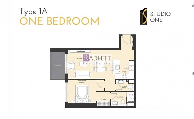 10 Brand New 1 BR|Jabel Ali and Sea Facing |Hot Deal